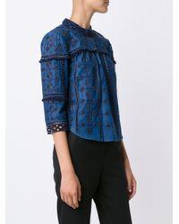Sea - Blue 'Diam' Lace Top - Lyst