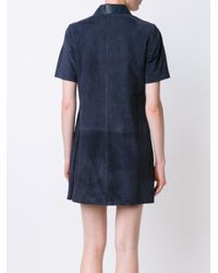 Rag & Bone - Blue 'alix' Dress - Lyst