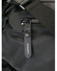 Lanvin - Black Sailor Messenger Bag for Men - Lyst