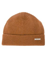 Bally | Natural Ribbed Beanie for Men | Lyst