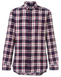 DIESEL | Blue 's-oasis' Shirt for Men | Lyst