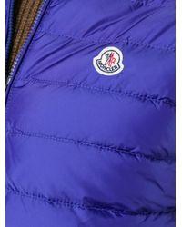 Moncler - Blue Padded Gilet for Men - Lyst