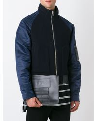 Hood By Air - Black Embossed Logo Clutch for Men - Lyst