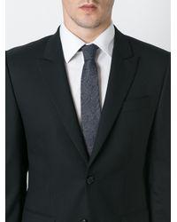 Brunello Cucinelli - Blue Pin Stripe Tie for Men - Lyst