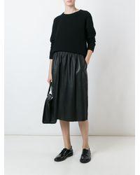 Avelon - Black 'lola' Knitted Sweater - Lyst