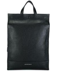 Alexander McQueen | Black Rectangular Backpack for Men | Lyst
