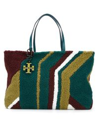 Tory Burch | Multicolor Sheepskin Tote | Lyst