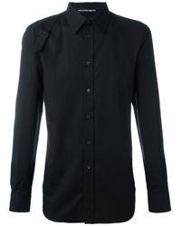 Alexander McQueen | Black Harness Shirt for Men | Lyst