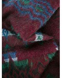 Valentino - Multicolor Garavani Jacquard Wool-cashmere Scarf for Men - Lyst