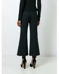 Barbara Bui - Black Flared Tailored Trousers - Lyst