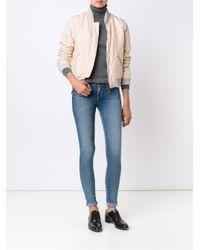 AG Jeans - Blue Stilt Slim-fit Mid-rise Cigarette Jeans - Lyst