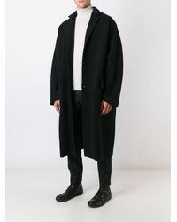 Damir Doma - Black 'copernico' Coat for Men - Lyst