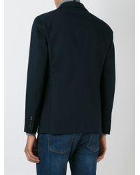Tagliatore - Blue Buttoned Blazer for Men - Lyst