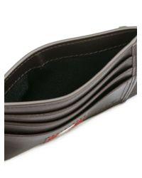 Bally - Brown Stripe Detail Wallet for Men - Lyst
