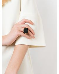 Marni | Black 'strass' Ring | Lyst