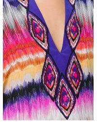 Trina Turk - Multicolor Embroidered Kaftan - Lyst