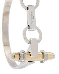 Givenchy - Metallic 'obsedia' Cuff - Lyst