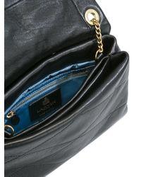Lanvin - Black Sugar Stud-embellished Medium Leather Shoulder Bag - Lyst