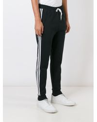 Adidas Originals - Black 'adc' Track Pants for Men - Lyst