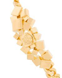 Versace - Metallic Medusa Bracelet - Lyst