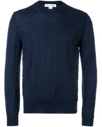 Comme des Garçons | Blue Crew Neck Jumper for Men | Lyst