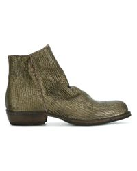 Fiorentini + Baker - Green 'Chill' Ankle Boots - Lyst