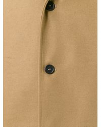 Gcds - Blue Single Breasted Coat for Men - Lyst