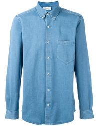 Harmony Paris - Blue 'clarence' Shirt for Men - Lyst