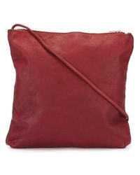 Guidi - Red Square Shoulder Bag - Lyst