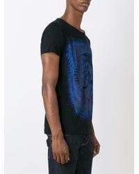 DIESEL | Black 't-diego-dc' T-shirt for Men | Lyst