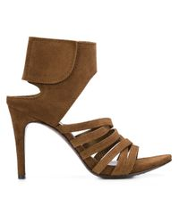 Pedro Garcia | Natural Stiletto Sandals | Lyst