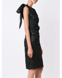 Carolina Herrera - Black Ikat Sequin Gown - Lyst