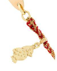 Carolina Bucci | Metallic Bambini 'zip' Id Tag Lucky Necklace | Lyst