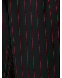 Yohji Yamamoto - Black Striped Culottes - Lyst