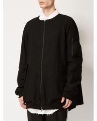 Moohong - Black Multi-pocket Oversized Jacket for Men - Lyst