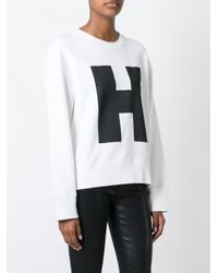 Hope - White 'way Top' Sweatshirt - Lyst