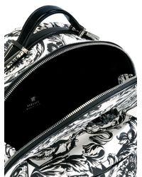 Versace - White 'baroque Medusa' Backpack - Lyst