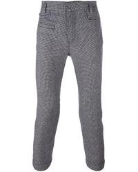 Haider Ackermann | Black Houndstooth Tailored Trousers for Men | Lyst