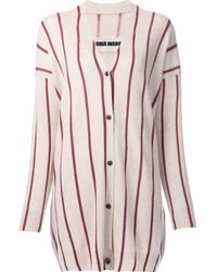 Uma Wang - Multicolor Striped V-neck Cardigan - Lyst