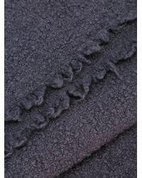 Faliero Sarti | Gray Knit Scarf | Lyst