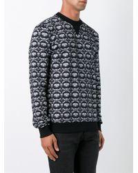 Dolce & Gabbana - Black Crown & Bee Print Sweatshirt for Men - Lyst