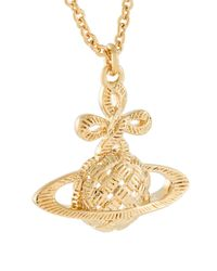 Vivienne Westwood Red Label | Metallic Orb Pendant Necklace | Lyst