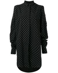 Henrik Vibskov   Black 'bumble' Shirt Dress   Lyst