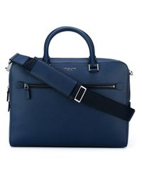 Michael Kors | Blue Medium 'harrison' Briefcase for Men | Lyst