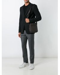 Michael Kors - Brown Jet Set Small Logo Flight Bag for Men - Lyst