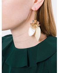 Marni - Multicolor Petal Drop Earrings - Lyst