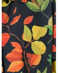 Arthur Arbesser - Black Leaf Print Shirt - Lyst