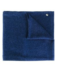 Z Zegna - Blue Knit Scarf for Men - Lyst