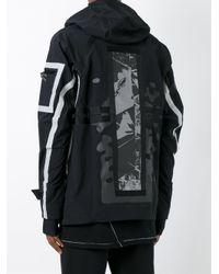Boris Bidjan Saberi 11 - Black Reflective Tape Detail Jacket for Men - Lyst