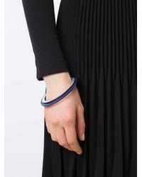 Issey Miyake - Blue 'planet' Bracelet - Lyst